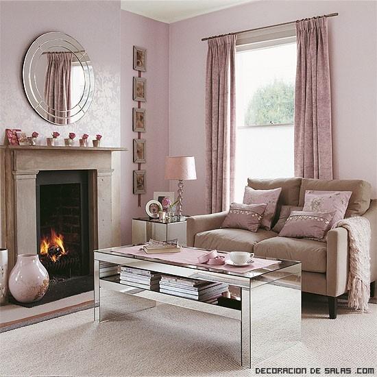 salones románticos en rosa