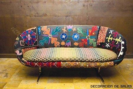 sillon tapizado