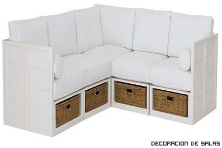 sofa cajones