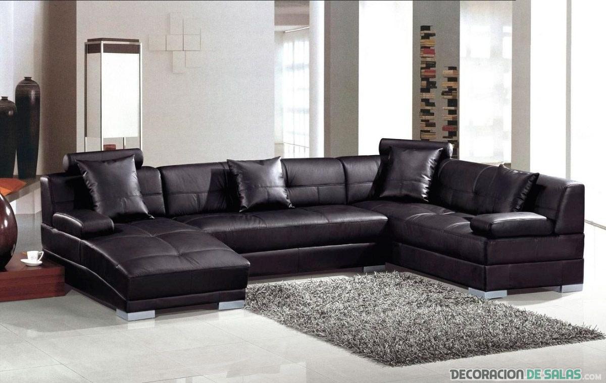 sofá chaise longue para familia numerosa