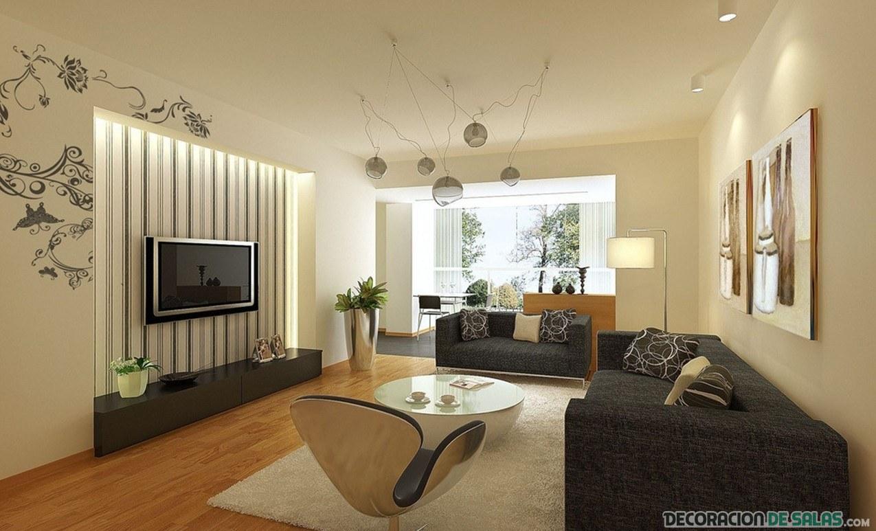 sofá en marrón para decoración moderna