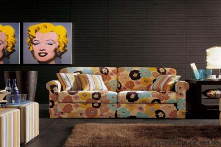 sofa estilo pop