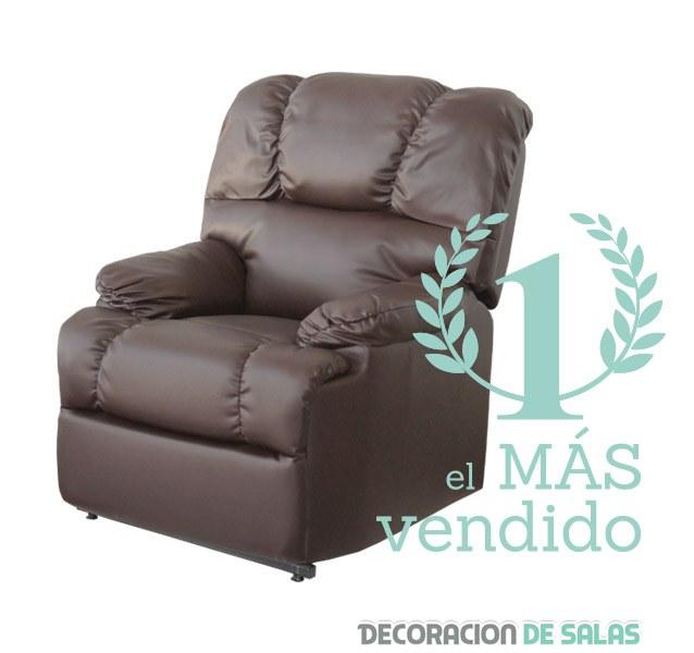 Sofá relax en marrón