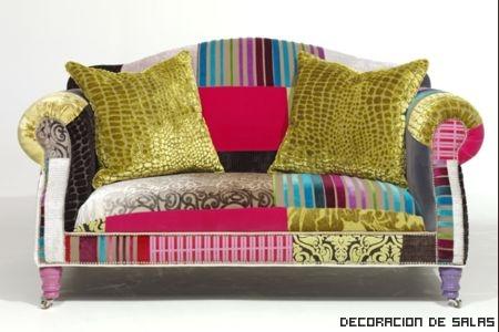 sofa vintage colores