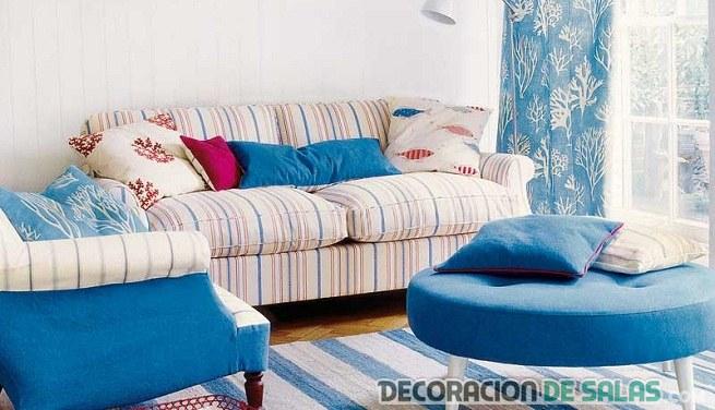 sofás de salón muy alegres