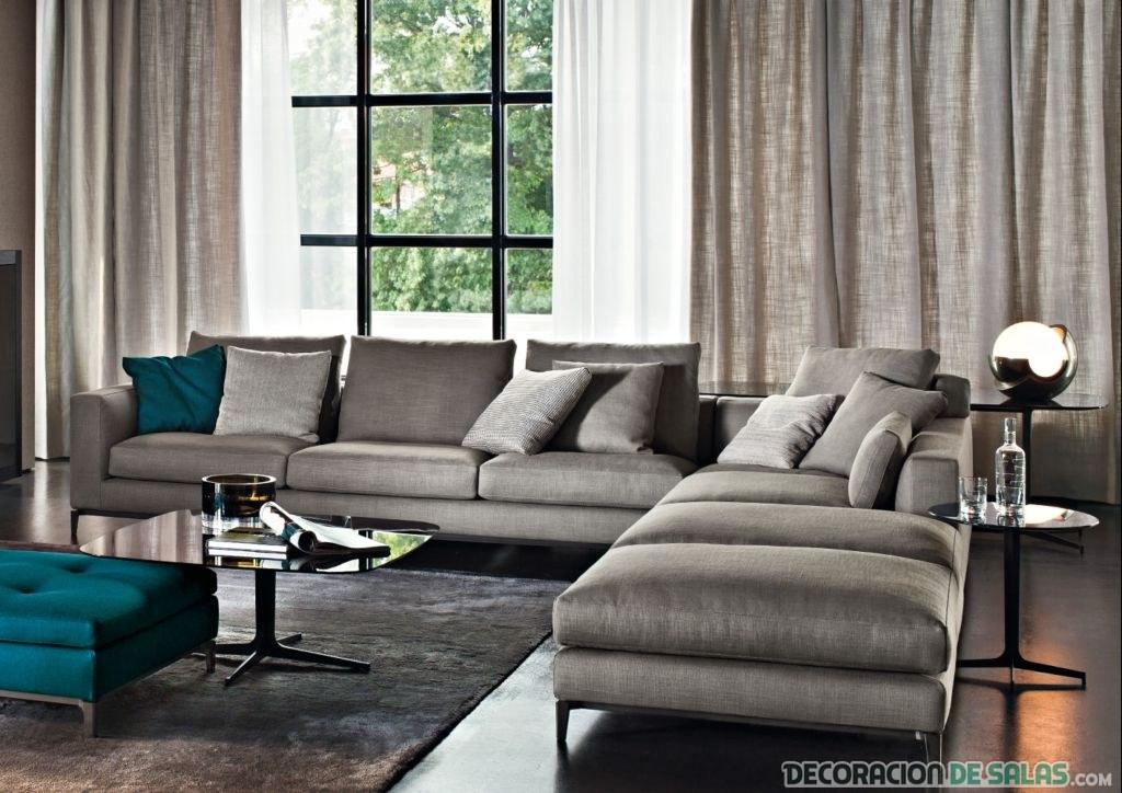 sofás para salones amplios