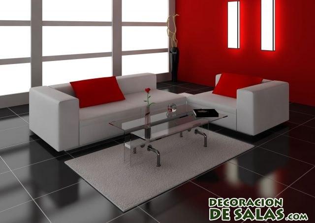 suelo en color negro para salones elegantes