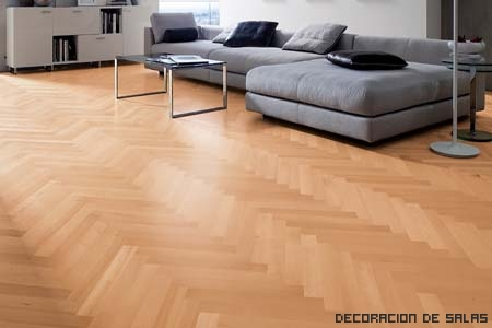 suelo parquet elegante