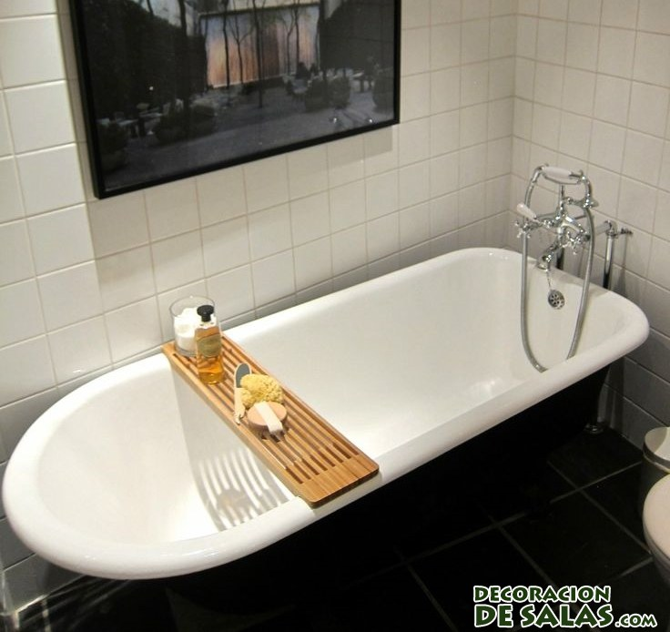tabla de madera para bañera