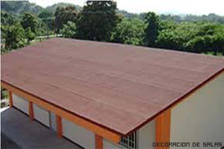 techo reparado