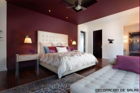 techo y pared color