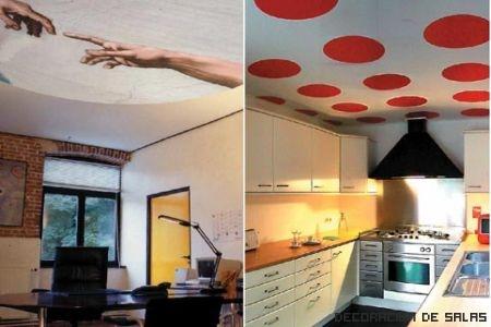 techos decorativos
