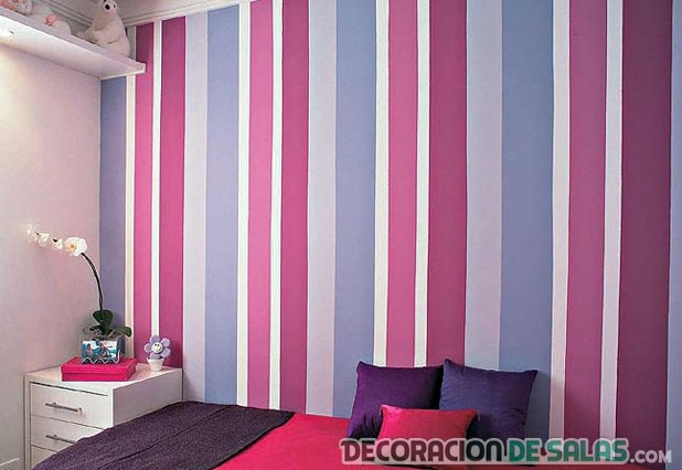 tela pared dormitorio