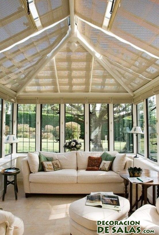 terraza cubierta elegante