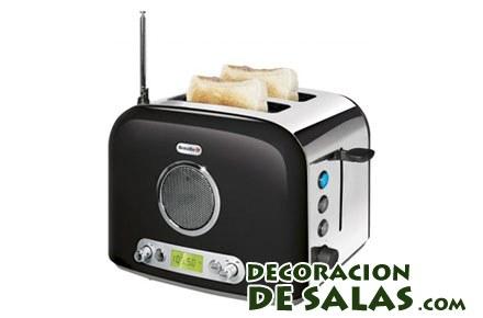 tostadora con radio