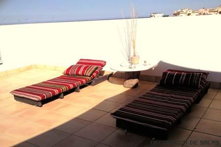 tumbonas terraza