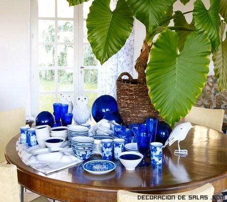 mesas elegantes en primavera