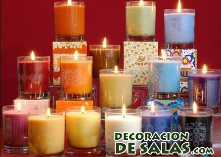 velas para aromatizar la casa