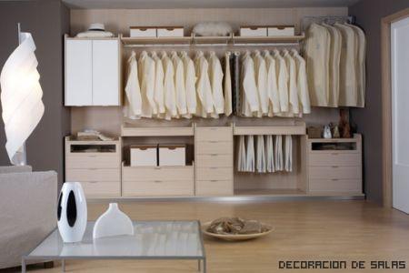 vestidor blanco