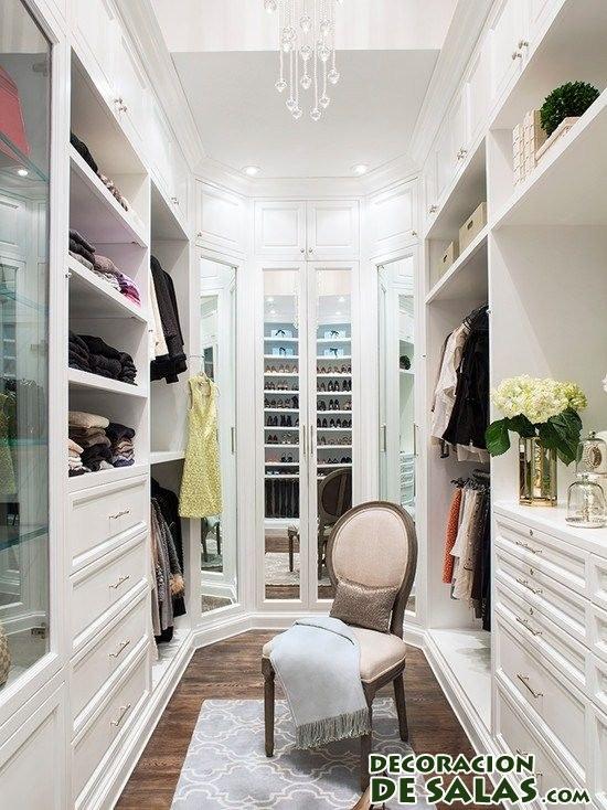 vestidor en color blanco