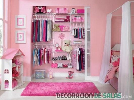vestidor para habitación infantil
