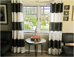 DIY: Pintar tus aburridas cortinas