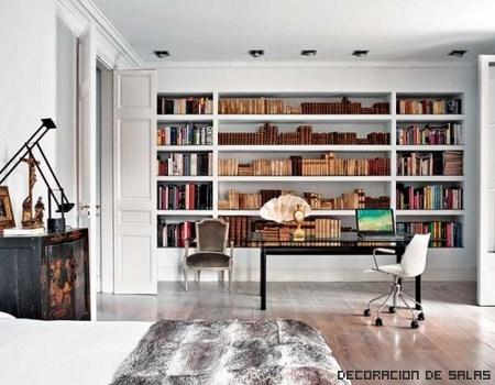 Decora tu casa con librerías