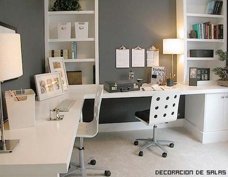 Decoración de la oficina en casa