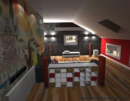 Ideas para decorar el sótano