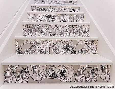 Más ideas para decorar las escaleras de interior