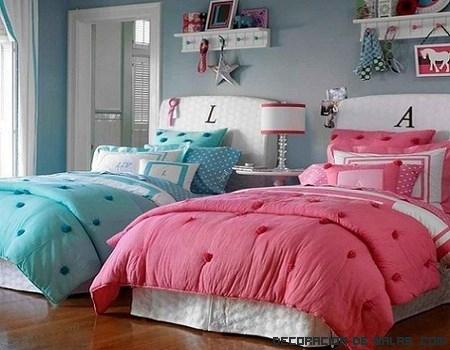 Ideas para un dormitorio de gemelas