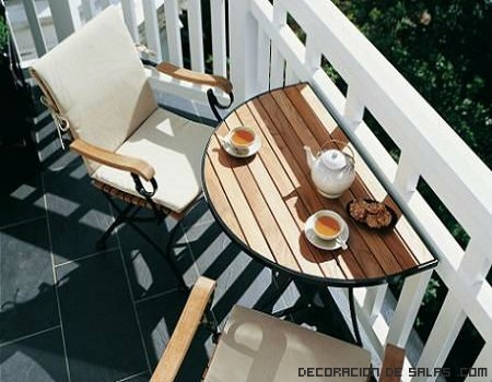 Ideas para decorar un balcón