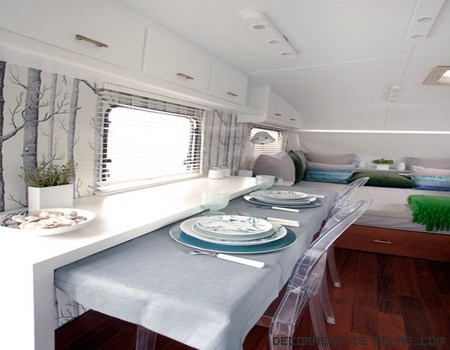 Ideas para decorar una caravana