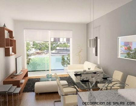 Ideas para decorar pisos peque os decoraci n de salas - Ideas pisos pequenos ...