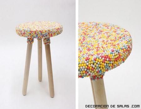 Unos muebles muy dulces