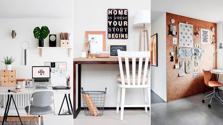 ¿Cómo crear una buena decoración de oficina en casa?