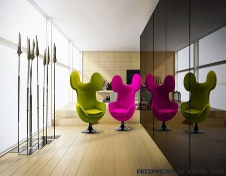 Una silla original inspirada en Mickey Mouse