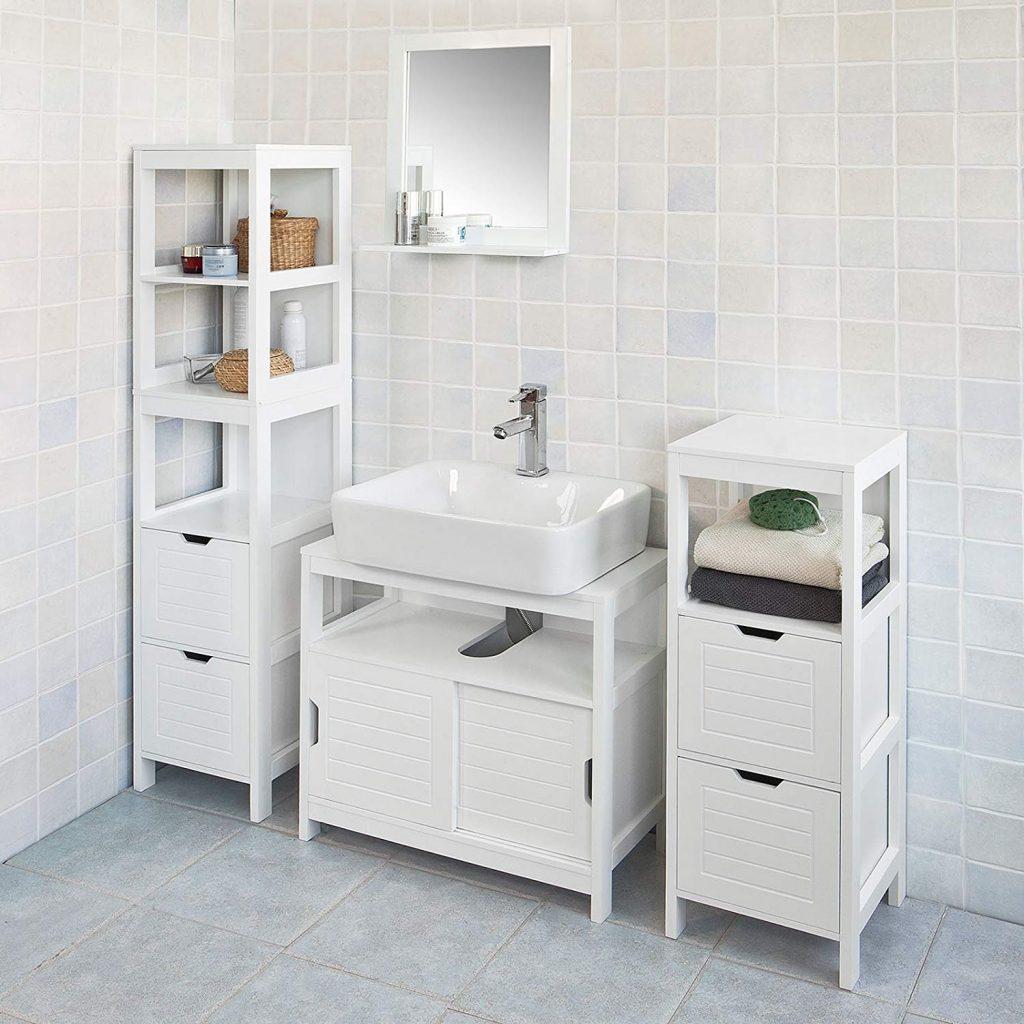 Muebles blancos el baño SOBUY