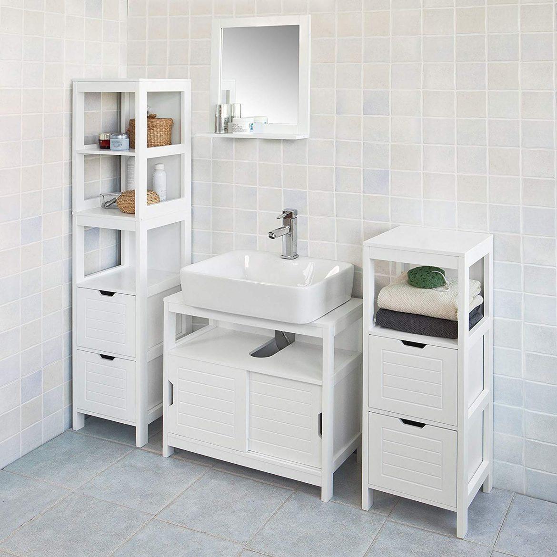 Mueble columna de baño SOBUY