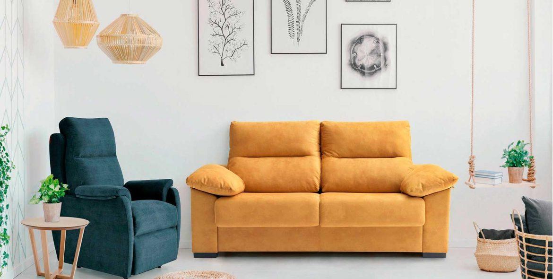 Sofá para decorar salas 2021