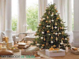 Ideas de decoración para árboles de Navidad
