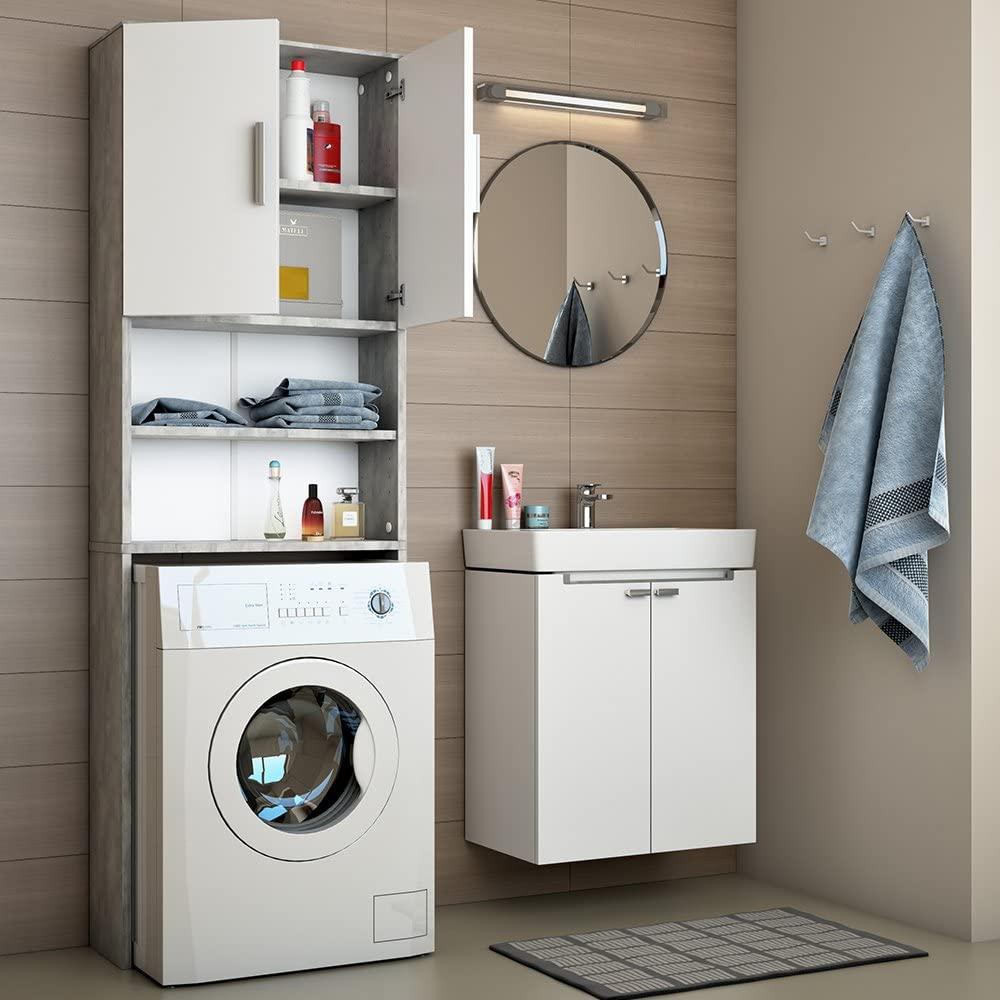 Los mejores muebles y armarios para tu lavadora