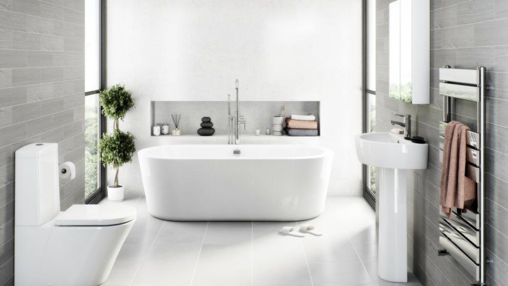 Los mejores colores para decoración de baños