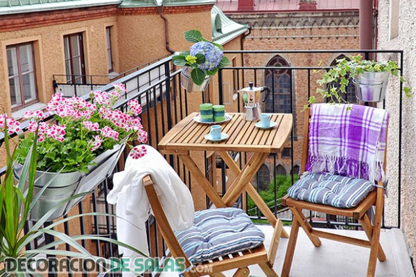 Balcones decorados