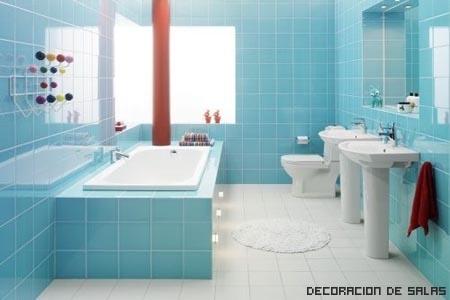 Baño alquilado