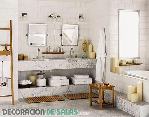 5 elementos imprescindibles en todo baño