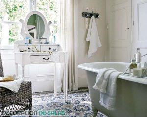 Baños con estilo vintage