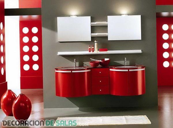 Un color apasionado para tu baño