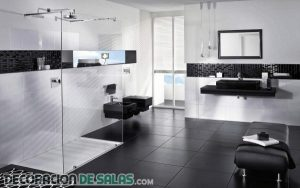 Ideas de baños en color negro
