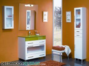 Muebles auxiliares para tu baño